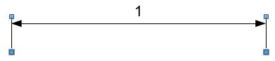 Длина единичного отрезка